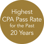 Highest CPA Pass Rate for the Past 20 Years